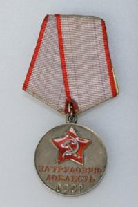 Орден за трудовую доблесть Неттиной Т.К.