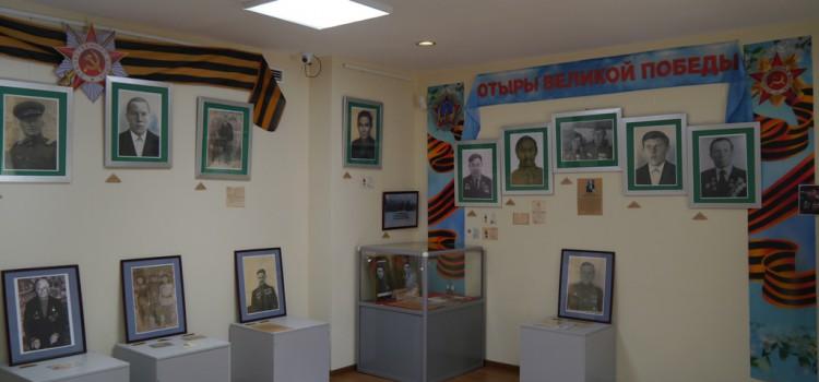 В преддверии 72-летия Великой Победы в музее «Торум Маа»  открыт выставочный проект «Отыры Великой Победы»