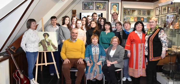 В музее «Торум Маа» открыт творческий сезон литературных гостиных 2018 года