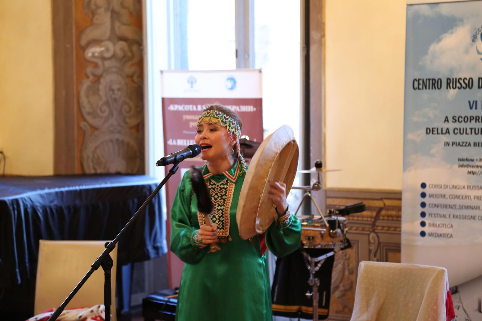 В Риме открылась выставка российских сувениров «Красота в многообразии»
