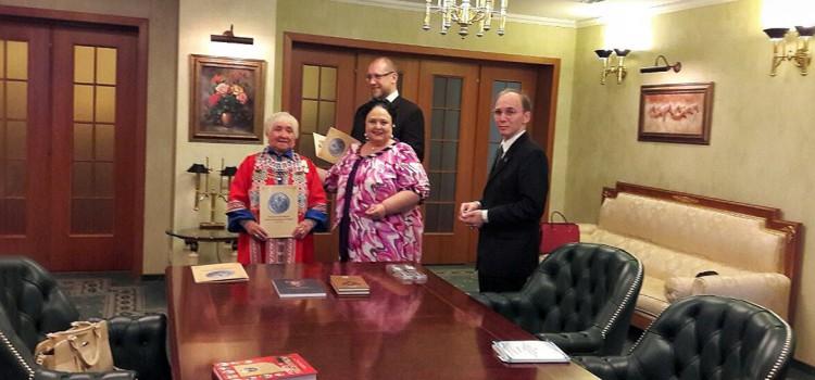 Легендарный сотрудник музея удостоен Императорской медали