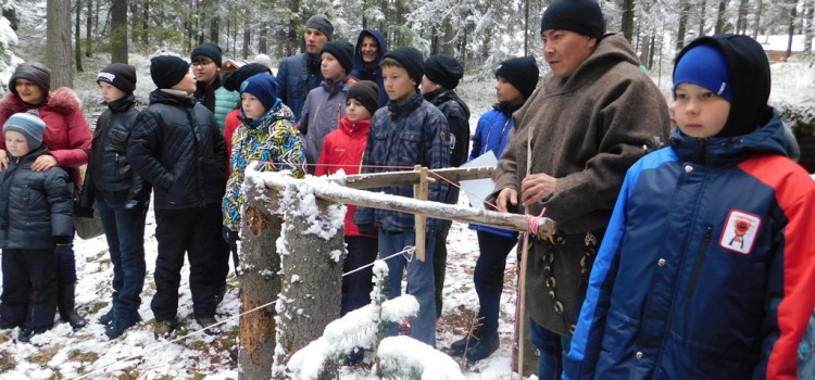 Квест-путешествие для российских кадет в музее «Торум Маа»