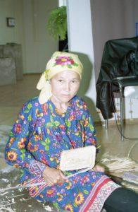 Мастер Ульяна Филипповна Иуси, п. Варьеган