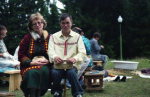 Участники семинара Галина Алексеевна Мумракова (Нефтеюганск) и Олег Иванович Кугин