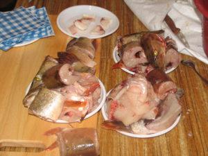 Подготовленная для приготовления блюд свежая рыба