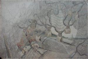 Д.И. Каратанов. Сети и руки. Ханты. Р. Вах. 1928 г