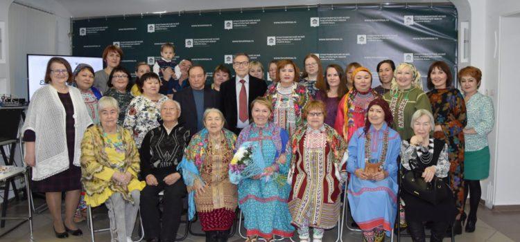 В юбилейный день рождения Светланы Динисламовой в музее «Торум Маа» состоялась литературная гостиная