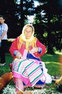 Волдина Агния (Агафья) Александровна. Расщепление черемухового прута