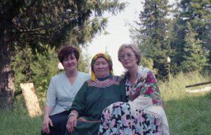 На семинаре Клименова Тамара Александровна, Тарлина Прасковья Макаровна, Рябчикова Зоя Степановна