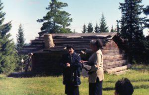 На закрытии семинара. Молданова Татьяна Александровна