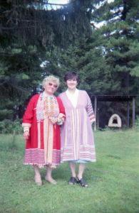 Организаторы семинара Зоя Никифоровна Лозямова, Тамара Александровна Клименова