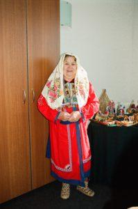 Тахтуева Александра Матвеевна презентует свою коллекцию