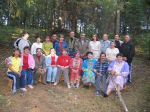 Организаторы и участники семинара. Фото Сергея Савина, 2006