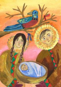 Ахмадиева Лия. Мать ворона