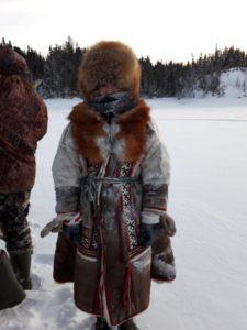 Гришкина Мария. Зимняя одежда народов Ханты