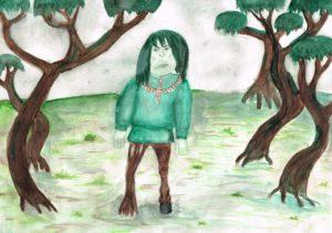 Карсканова Анна. Комплэн болотный дух