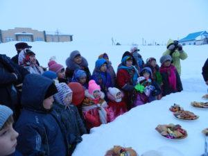 Лельхова Алина. Снежный стол