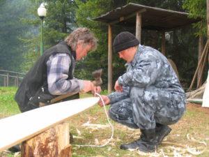 Рабочий процесс с наставником В.Г. Никоновым
