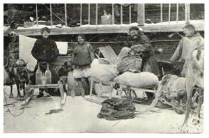 Приёмка пушнины. 1924 г. Из фондов Берёзовского районного краеведческого музея