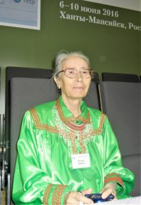 Татьяна Дмитриевна Слинкина. 2016 г.