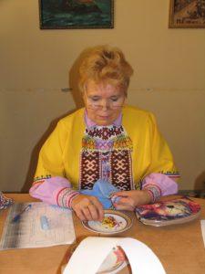 Зверева Мария Герасимовна - мастер (п. Шеркалы, Октябрьский район)